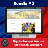 Digital Escape games - French bundle #2