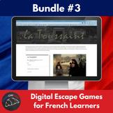 Digital Escape games - French bundle #3