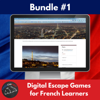 Digital Escape games - French bundle