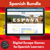 Digital Escape games - Spanish Bundle