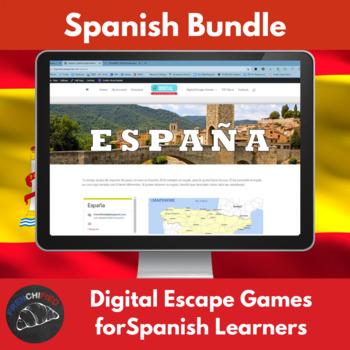 Digital Escape games - Spanish Bundle