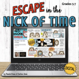 Back to School Digital Escape: Time Idioms & Expressions,