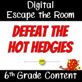6th Grade Math Digital Escape the Room
