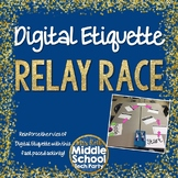 Digital Etiquette Relay Race