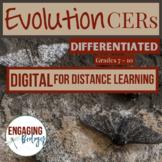 Digital Evolution CERs for Distance Learning
