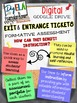 EXIT/ENTRANCE TICKETS DIGITAL FOR ALL SUBJECTS