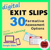 Digital Exit Slips: 30 Formative Assessment Options