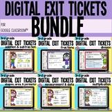 3rd Grade Digital Interactive Math Google Slides Exit Tick