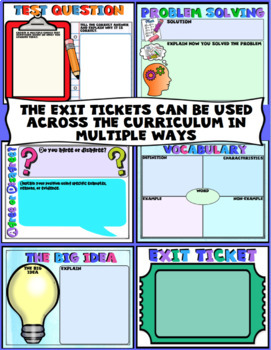 Digital Exit Tickets for Google Classroom