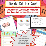 Digital Exit Tickets for REMOTE Learning