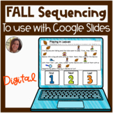 Digital FALL Sequencing and Story Retelling for Google Sli