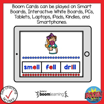 Boom Cards FLOSS Rule Find the Word