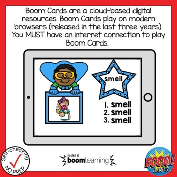 Digital FLOSS Rule Write the Word Boom Cards
