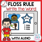 Boom Cards FLOSS Rule Write the Word