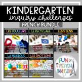 Digital FRENCH Kindergarten Inquiry-Based Challenges (Dist