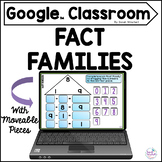 Fact Families Digital Practice for the Google Classroom Di