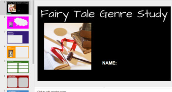 Digital Fairy Tale Book Study