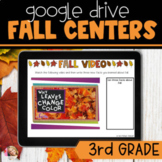 Digital Fall Activities | 3rd Grade Literacy Centers | Dis