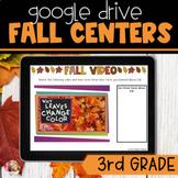 Digital Fall Activities   3rd Grade Literacy Centers   Dis