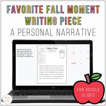 Digital Fall Narrative Writing