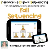 Digital Fall Sequencing for Special Ed (Interactive PDF an