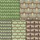 Digital Farm Animal Patterns - 10 Handmade Barnyard Backgrounds