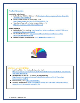 Digital Fashion Design Notebook (Editable)