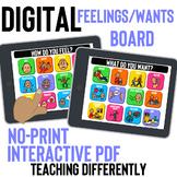 Digital Feelings Wants Communication Board for Distance Learning