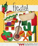 Digital Felt Art: Fiesta