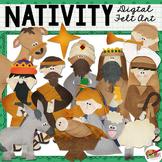 Nativity First Christmas Clip Art