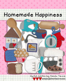 Digital Felt Art: Homemade Happiness