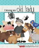 Digital Felt Art: I Know an Old Lady