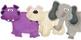 Digital Felt Art: Polar Bear & Friends