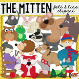 The Mitten FELT & LINE Clip Art