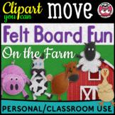Digital Felt Board Fun - On the Farm