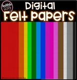 Digital Felt Paper (scribble clips)