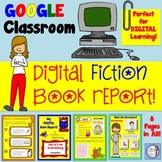 Digital Fiction Book Report for Distance Learning (Google)
