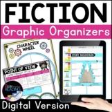 Fiction Digital Graphic Organizers, Reading Comprehension