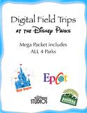Digital Field Trip - Disney Park - Mega Packet (4 park dig