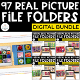 Digital File Folders Bundle for Special Education (REAL PI