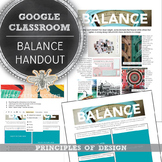 Digital Fill In Google Slide: Principles of Design, Balanc