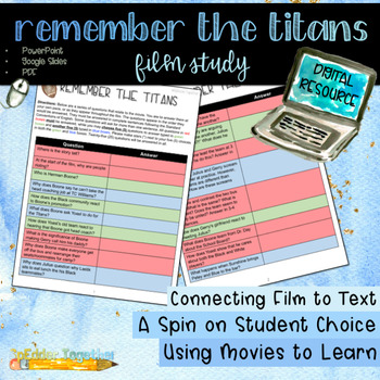 Digital Film Study: Remember the Titans