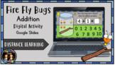 Digital Fire Fly Bugs Addition Activity 1-10 (Google Slide