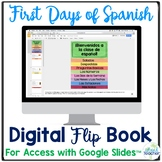 Digital First Days of Spanish Flip Book