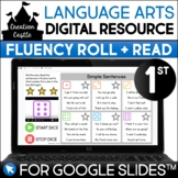 Digital First Grade Fluency for Google Slides™ | Roll and Read