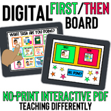 Digital First Then Board for Distance Learning