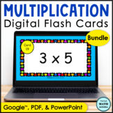 Digital Flash Cards for Multiplication BUNDLE