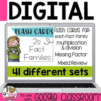 Digital Flash Cards to use with Google Classroom and BOOM Cards