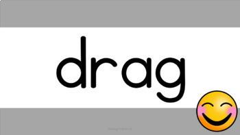Digital Flashcards: Consonant Cluster Decodable Words