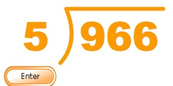 Digital Flashcards - Long Division - 3 Digit Dividend with